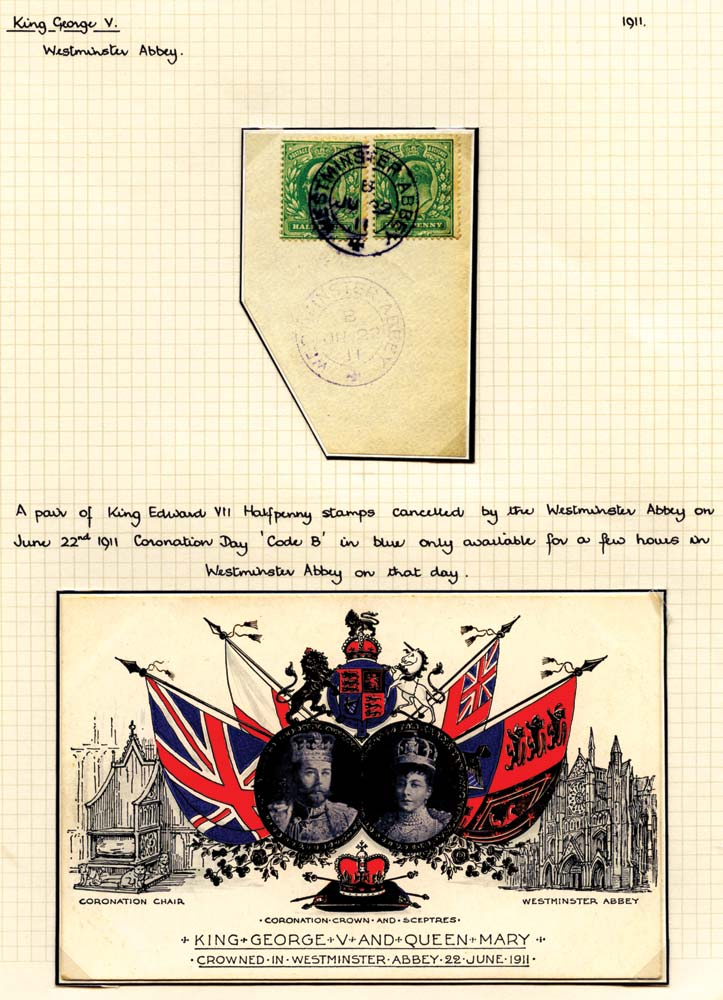 GB 1911  SG269 Used - Westminster Abbey cds