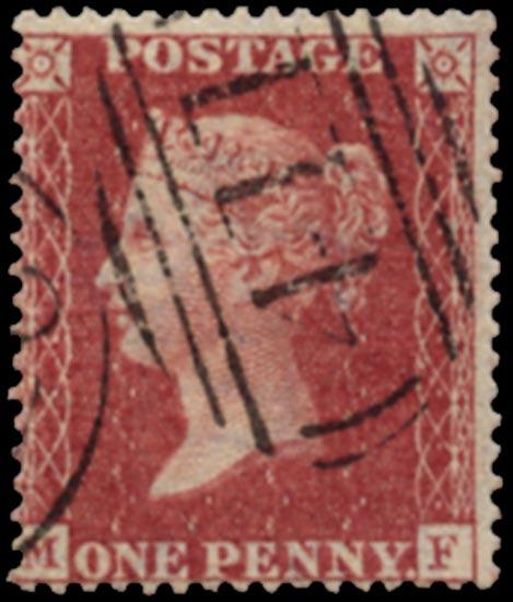 GB 1857  SG36 Pl.43 Used Kendal