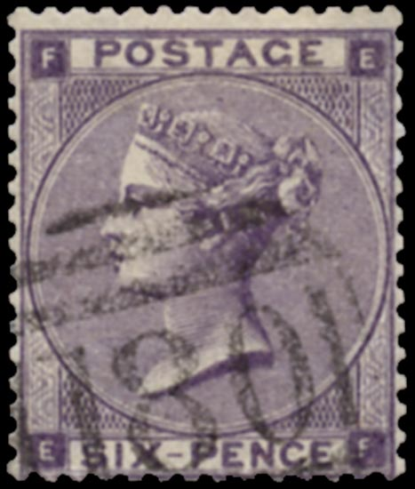 GB 1862  SG83 Used Chester