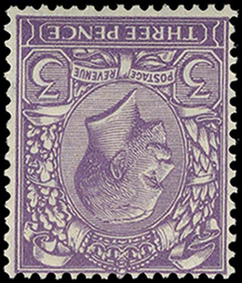 GB 1924  SG423wi Mint U/M o.g. Wmk Inverted