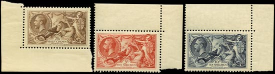 GB 1934  SG450/2 Mint U/M o.g. corner marginal set