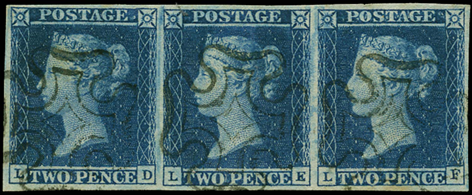 GB 1841  SG14 Pl.3 Used