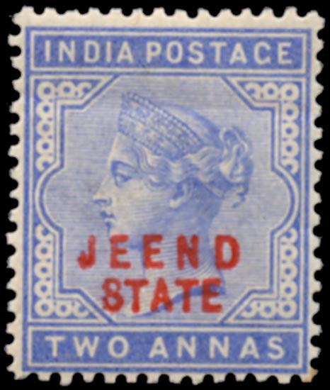 I.C.S. JIND 1885  SG9 Mint