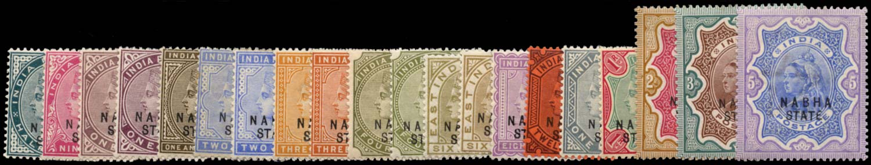 I.C.S. NABHA 1885  SG14/33 Mint