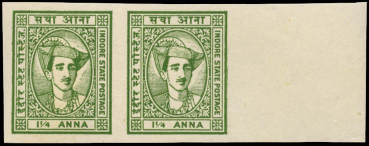 I.F.S. INDORE 1940  SG39a Mint