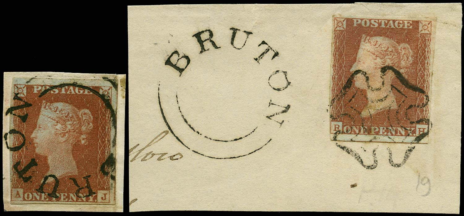 GB 1841  SG8 Pl.51 Used - Bruton UDC cancel