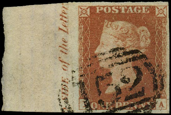 GB 1841  SG8 Pl.72 Used
