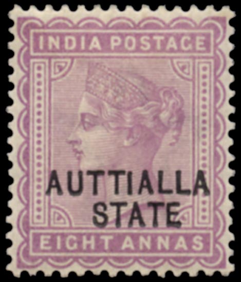I.C.S. PATIALA 1885  SG12a Reprint