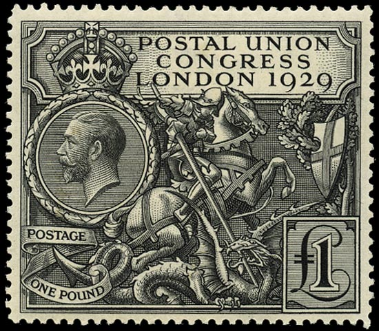 GB 1929  SG438 Mint