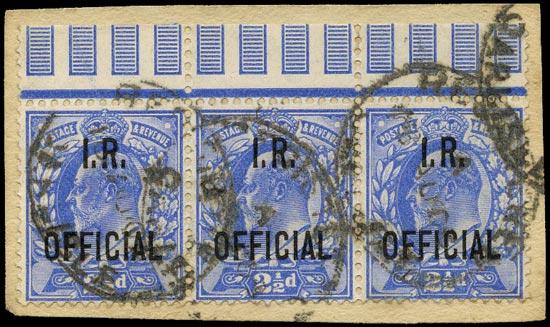 GB 1902  SGO22 Official
