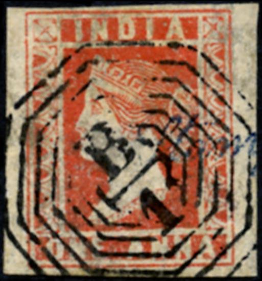 INDIA 1854  SG16 Used