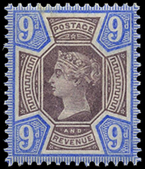 GB 1887  SG209 Mint U/M o.g. example