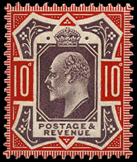 GB 1906  SG256 Mint U/M o.g. example
