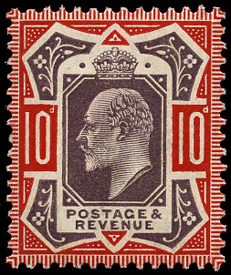 GB 1906  SG256 Mint U/M o.g. example