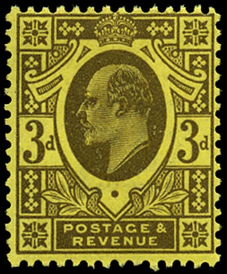 GB 1911  SG277 Mint U/M o.g. example