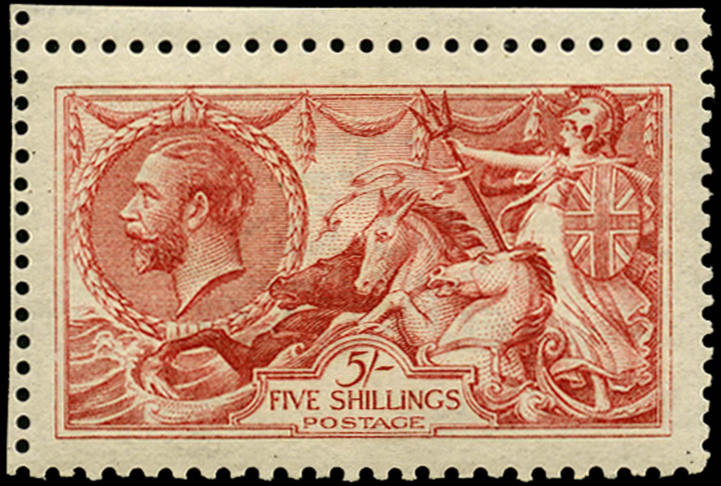 GB 1915  SG410 Mint Unused o.g. example