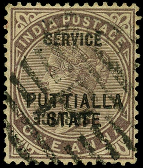 I.C.S. PATIALA 1885  SGO5b Official