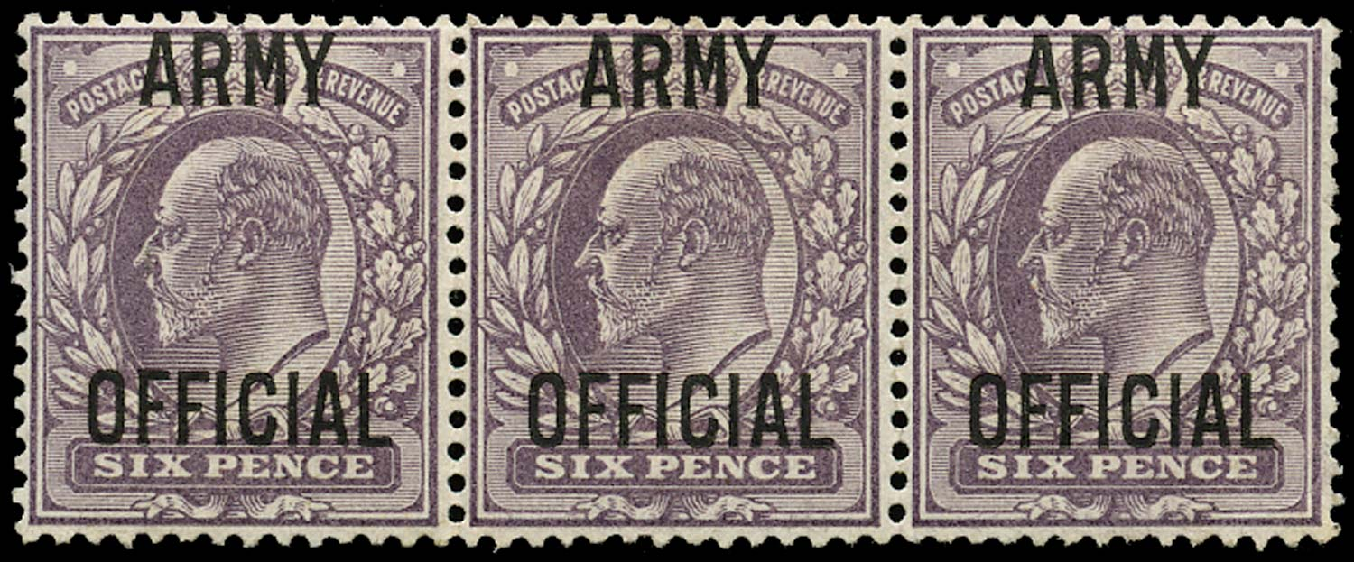 GB 1903  SGO52 Official (Army Official) type O6