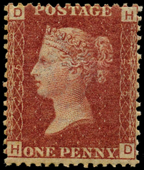 GB 1879  SG43 Pl.225 Mint