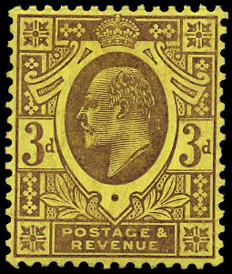 GB 1906  SG234 Mint u/m