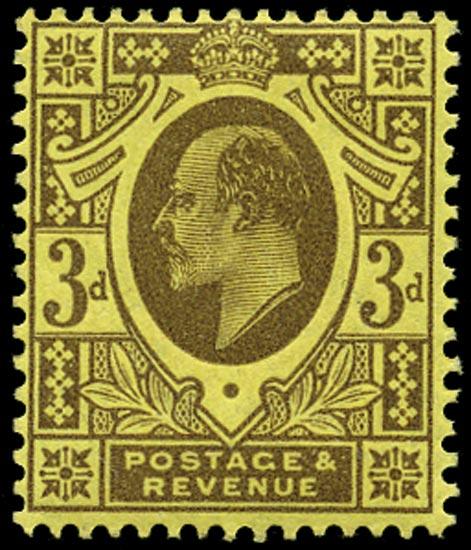 GB 1911  SG285var Mint Unused o.g.