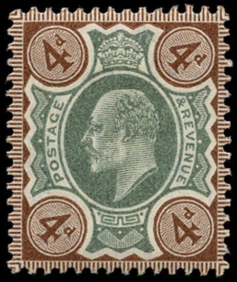 GB 1902  SG235var Mint unused o.g.