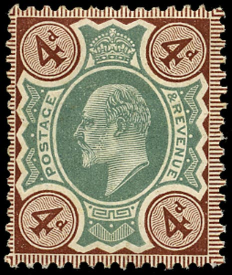 GB 1906  SG236a Mint unused o.g.