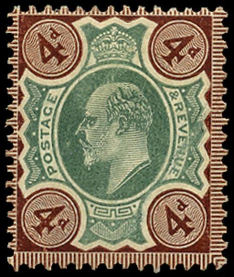 GB 1906  SG238 Mint unused o.g.