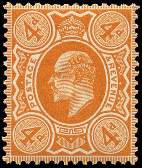 GB 1909  SG240 Mint u/m