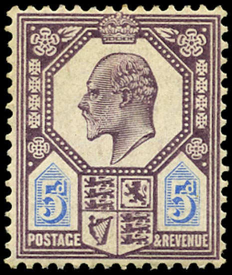 GB 1906  SG243a Mint Unused o.g.