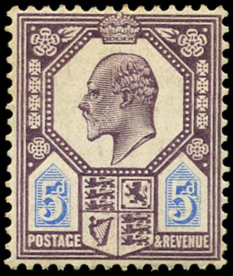 GB 1906  SG244 Mint Unused o.g.