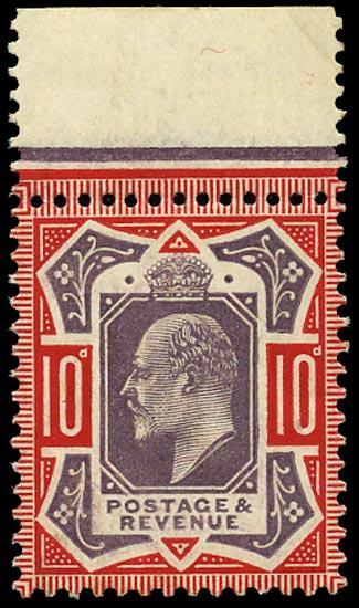 GB 1910  SG256 Mint u/m