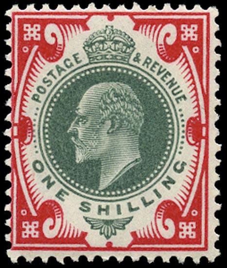 GB 1902  SG257var Mint Unused o.g.