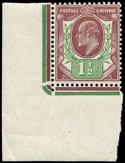 GB 1911  SG287 Mint Unused o.g.