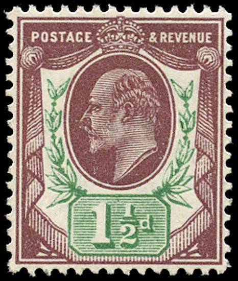 GB 1911  SG287 Mint u/m