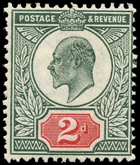 GB 1911  SG291var Mint unused o.g.