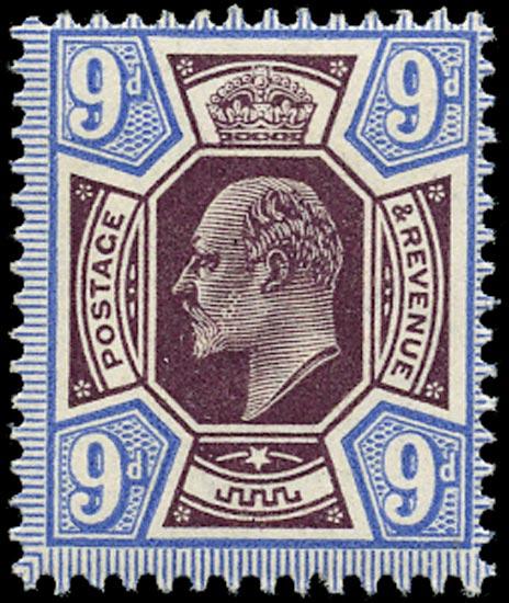 GB 1913  SG307a Mint um