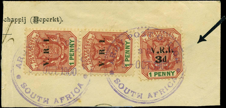 TRANSVAAL LYDENBURG 1900  SG5 Used Boer War Occupation
