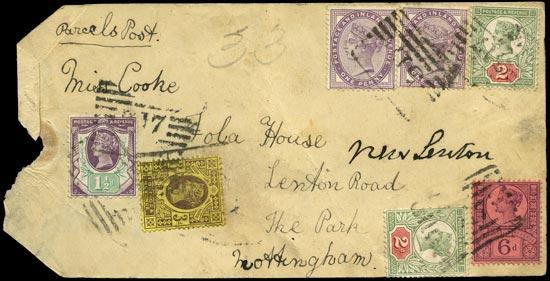 GB c.1890  SG172,198,200,202,208 Used