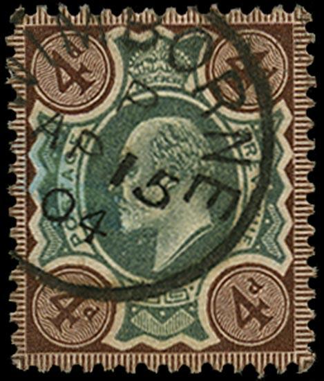 GB 1902  SG236 Used