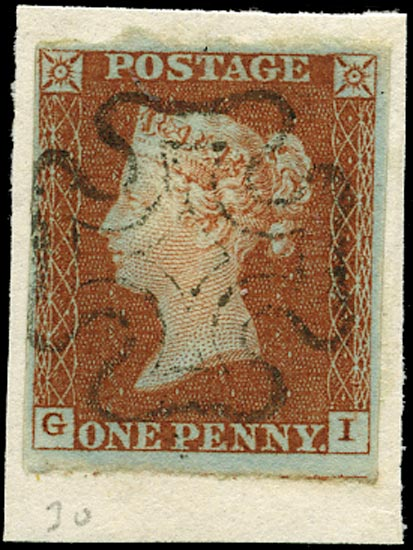 GB 1841  SG8 Pl.30 Used