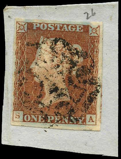GB 1841  SG8 Pl.26 Used
