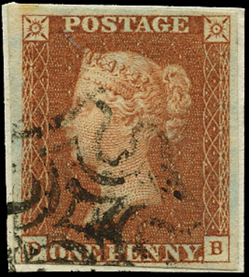 GB 1841  SG8 Pl.29 Used