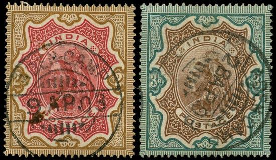 ADEN 1892  SGZ61/2 Cancel