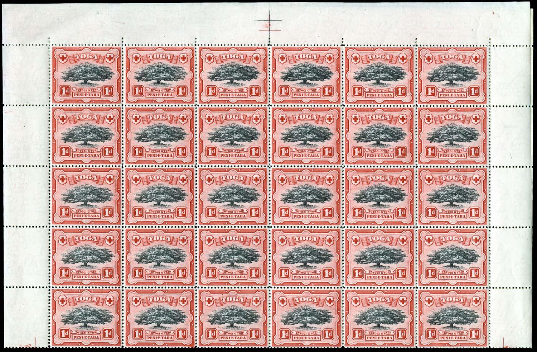 TONGA 1942  SG75/a Mint