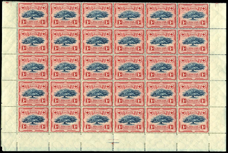 TONGA 1897  SG39/b Mint