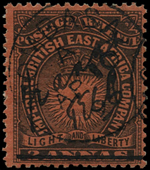 BRITISH EAST AFRICA 1895  SG31 Used