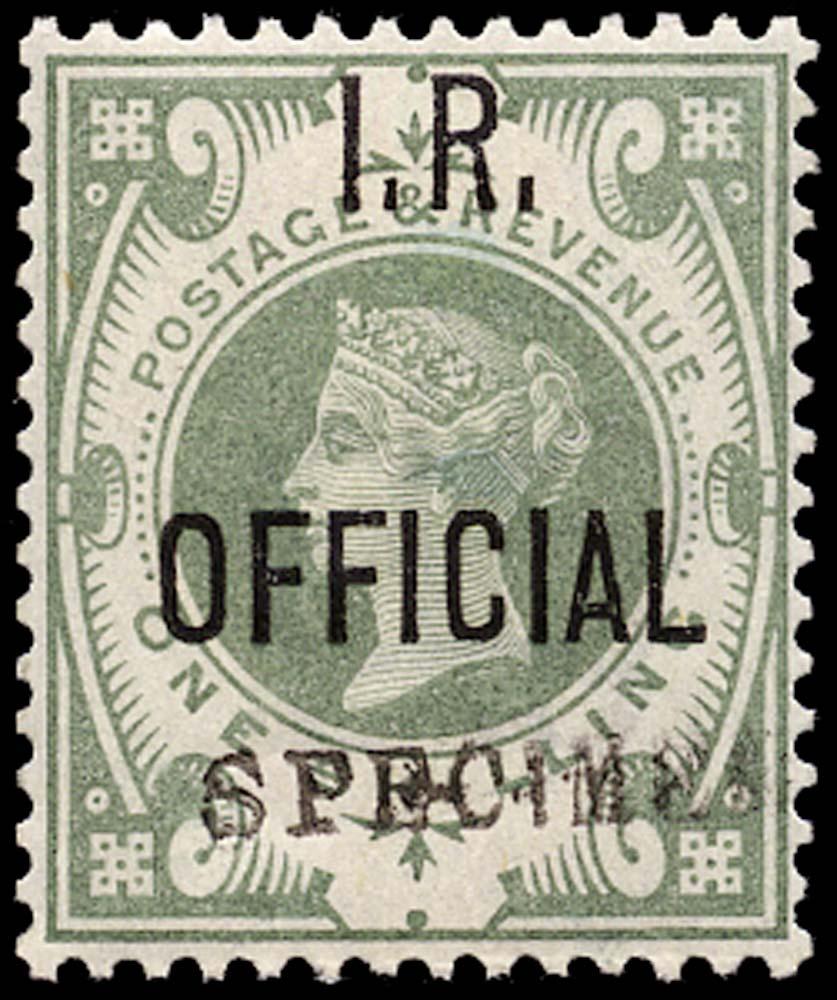 GB 1889  SGO15s Official