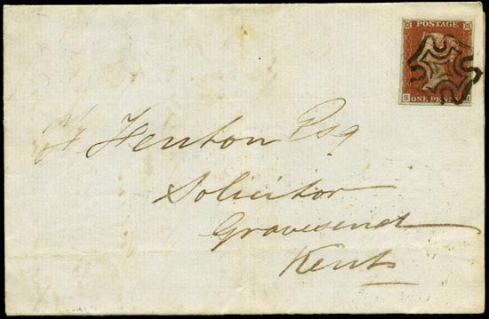 GB 1841  SG8 Pl.41 Cover