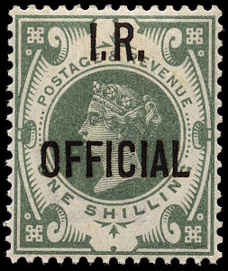 GB 1889  SGO15 Official M/M o.g. example